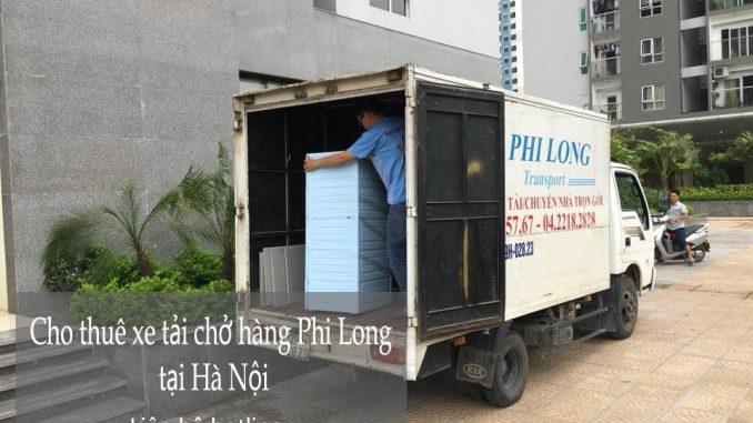 Dịch vụ thuê xe tải giá rẻ tại phố Nguyễn Như Đổ 2019