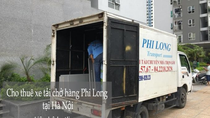 Dịch vụ thuê xe tải giá rẻ tại phố Bạch Thái Bưởi
