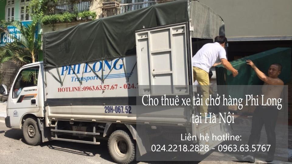 Dịch vụ thuê xe tải giá rẻ tại phố Lê Đại Hành