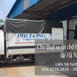 Thuê xe tải giá rẻ tại phố Ngọc Thụy