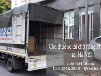 Cho thuê xe tải giá rẻ tại phố Thành Thái