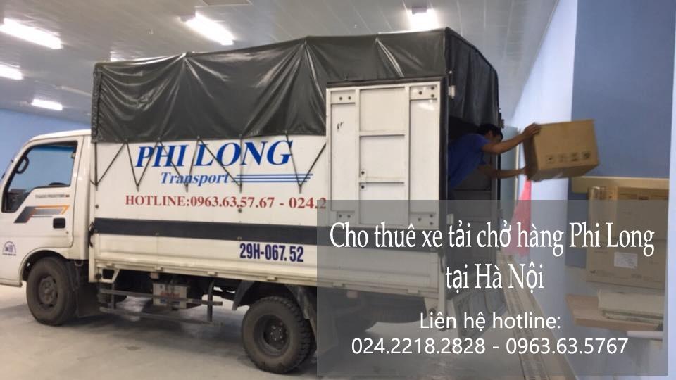 Cho thuê xe tải giá rẻ tại phố Lương Văn Can