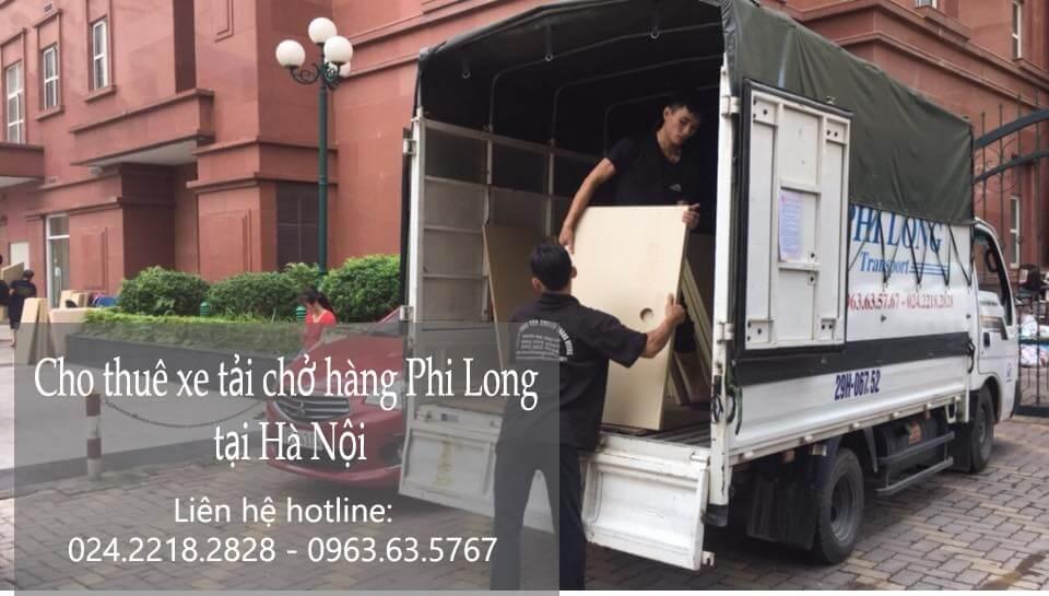 Cho thuê xe tải tại phố Đội Cấn