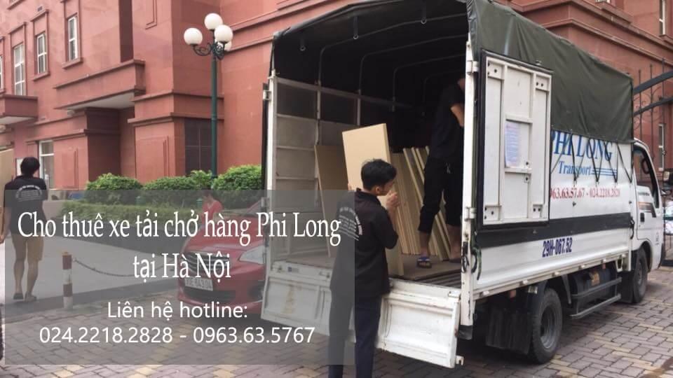 Dịch vụ thuê xe tải giá rẻ tại phố Châu Long