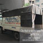 Thuê xe tải giá rẻ tại phố Hoàng Cầu
