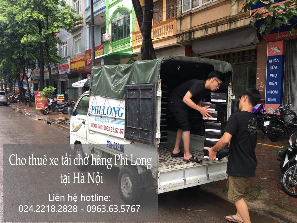 Dịch vụ cho thuê xe tải giá rẻ tại đường Quang Tiến