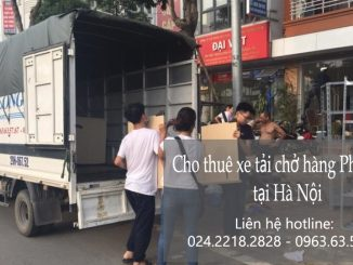 Dịch vụ cho thuê xe tải giá rẻ tại phố Yên Bình