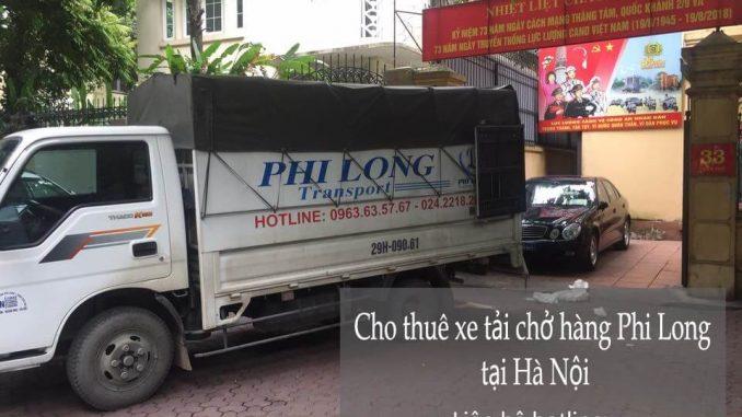 Dịch vụ thuê xe tải giá rẻ tại phố Đông Thái