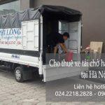 Dịch vụ thuê xe tải giá rẻ tại phố Hồng Mai