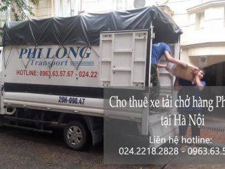 Dịch vụ thuê xe tải giá rẻ tại phố Chu Huy Mân