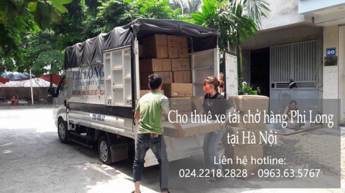 Dịch vụ cho thuê xe tải giá rẻ tại phố Chùa Láng