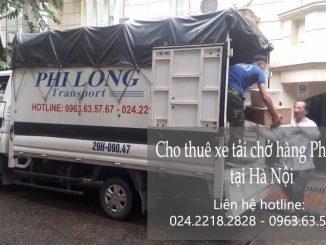 Dịch vụ cho thuê xe tải giá rẻ tại phố Hoàng Ngân