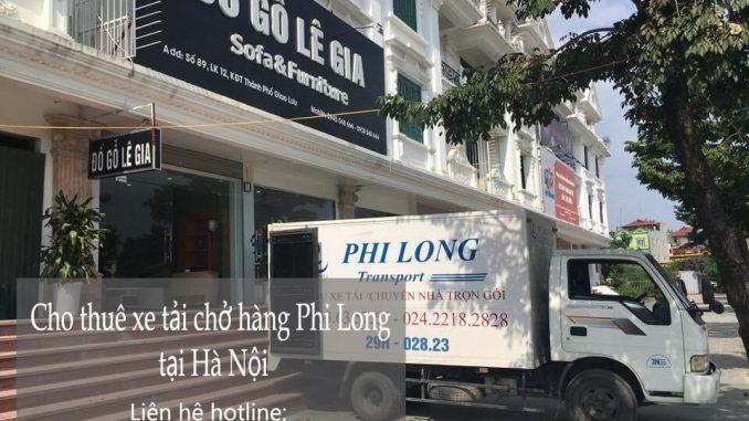 Dịch vụ cho thuê xe tải giá rẻ tại phố Hoa Lâm