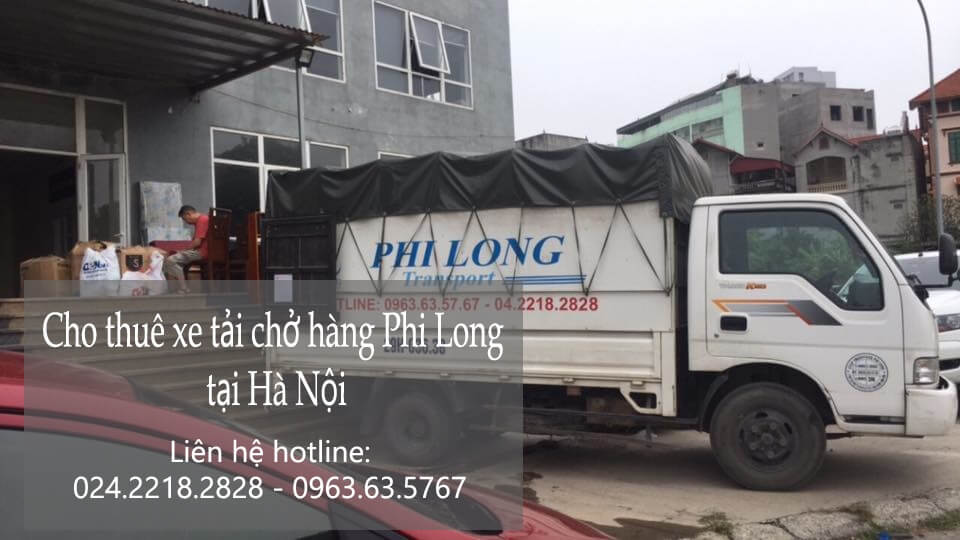 Dịch vụ cho thuê xe tải giá rẻ tại phố Cầu Gỗ