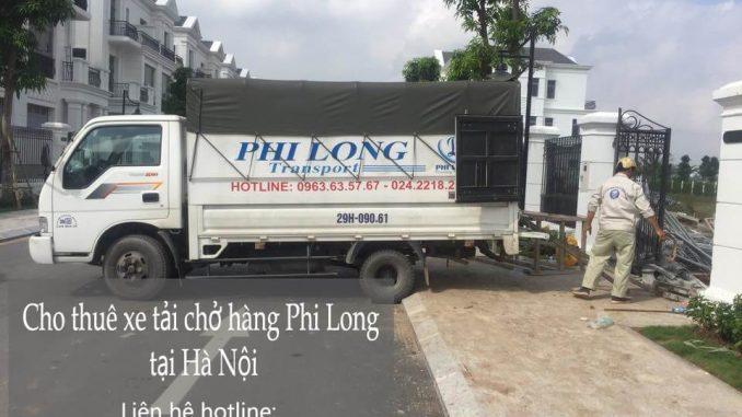 Dịch vụ cho thuê xe tải giá rẻ tại phố Đốc Ngữ