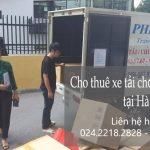 Chi thuê xe tải giá rẻ tại phố Nguyễn Khoái