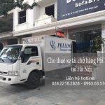 Dịch vụ thuê xe tải giá rẻ tại phố Liễu Giai