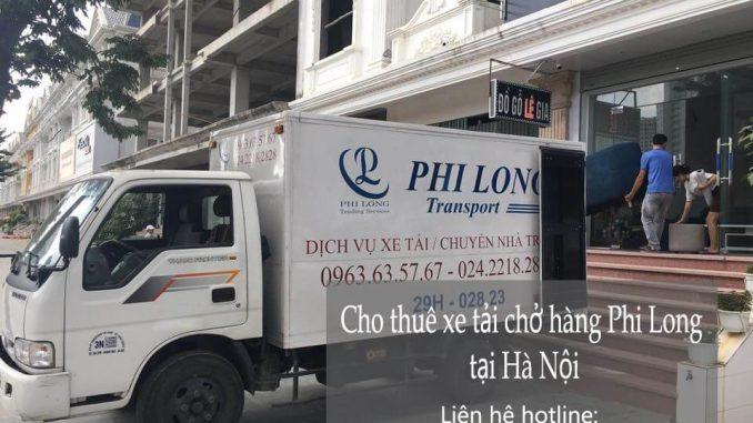 Dịch vụ thuê xe tải giá rẻ tại phố Hồ Đắc Di