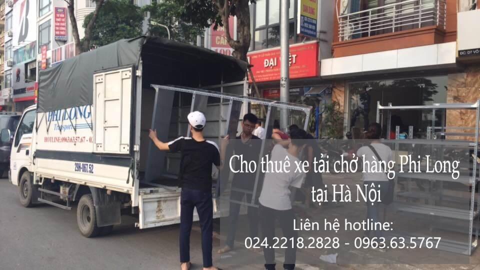 Dịch vụ thuê xe tải giá rẻ tại phố Cát Linh 2019
