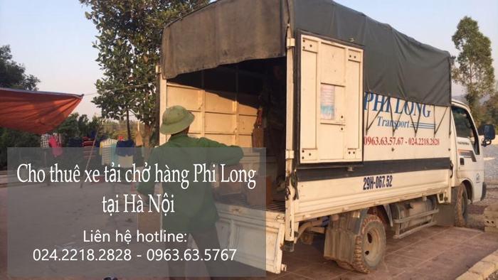 Dịch vụ xe tải giá rẻ tại phố Hoa Lâm