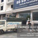 Dịch vụ thuê xe tải giá rẻ tại phố Hoàng Văn Thái