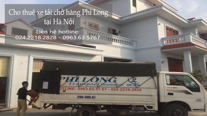 Cho thuê xe tải giá rẻ tại phố Ấu Triệu