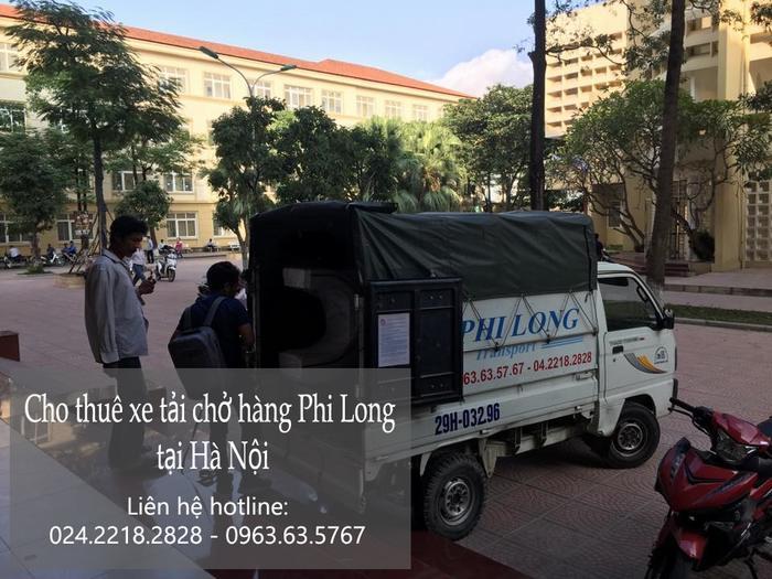 Dịch vụ thuê xe tải giá rẻ tại phố Hoàng Hoa Thám