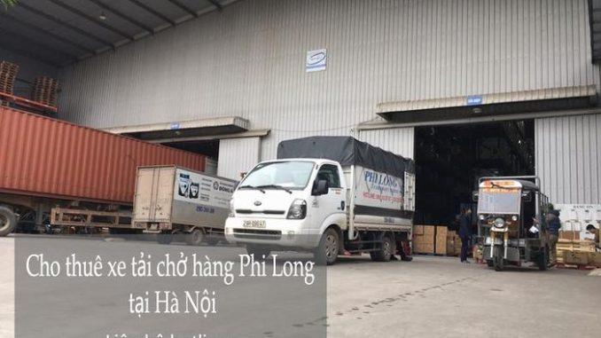 Cho thuê xe tải giá rẻ tại phố Hàng Da