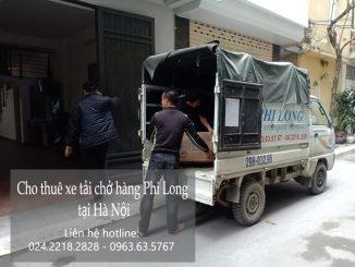 Dịch vụ thuê xe tải giá rẻ tại phố Kim Hoa 2019