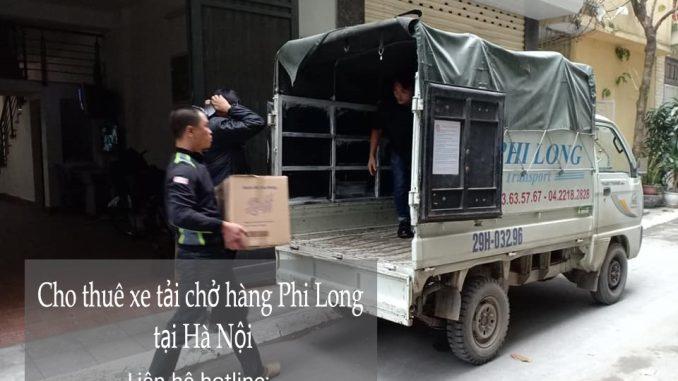 Dịch vụ thuê xe tải giá rẻ tại đường Hà Huy Tập