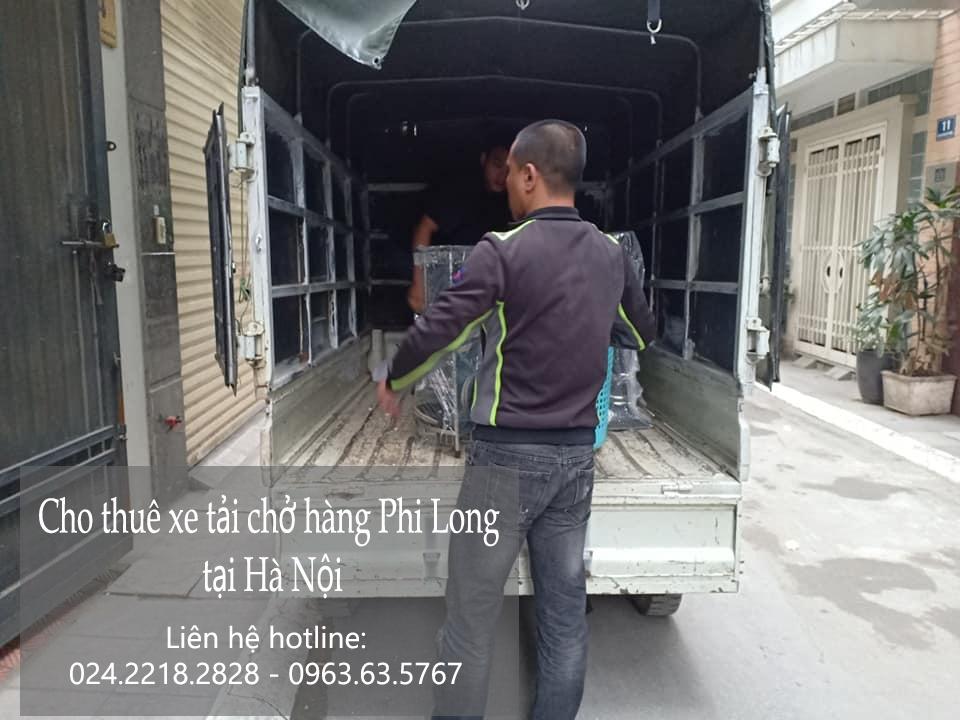 Cho thuê xe tải giá rẻ tại phố Đào Tấn