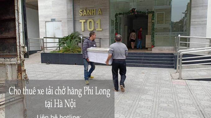 Dịch vụ thuê xe tải giá rẻ tại phố Lê Ngọc Hân