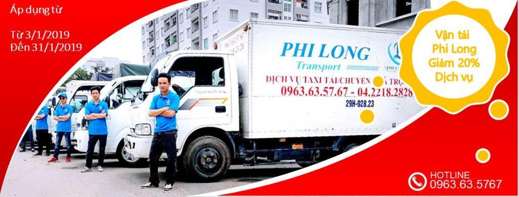 Cho thuê xe tải giá rẻ tại phố Nam Tràng