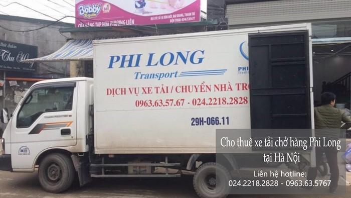 Dịch vụ cho thuê xe tải giá rẻ tại phố Quỳnh Mai