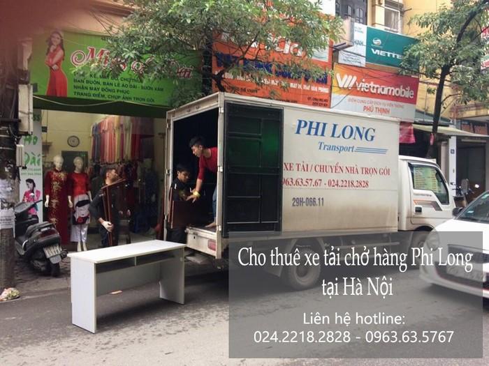 Dịch vụ cho thuê xe tải tại phố Hà Huy Tập