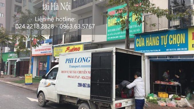 Cho thuê xe tải giá rẻ tại phố Dương Quang
