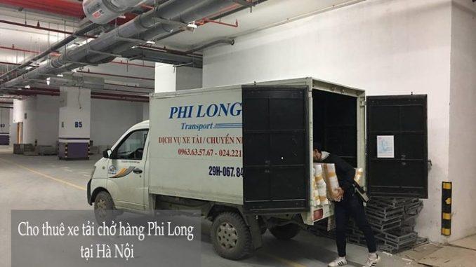Cho thuê xe tải tại phố Dương Hà