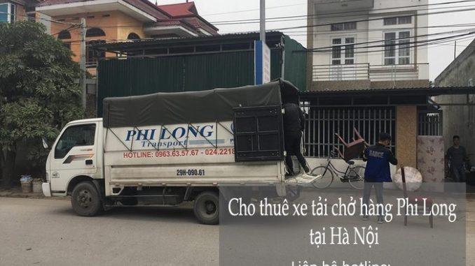 Dịch vụ thuê xe tải giá rẻ tại phố Quỳnh Lôi