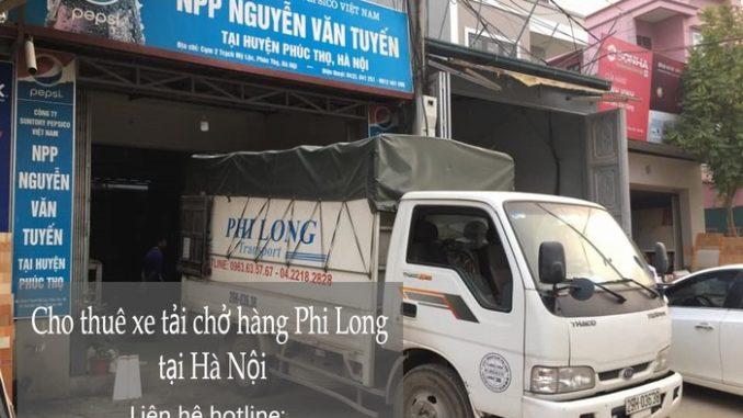 Cho thuê xe tải giá rẻ tại phố Thiên Đức