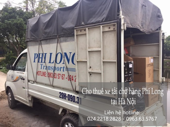 Cho thuê xe tải giá rẻ tại phố Nguyễn Huy Nhuận