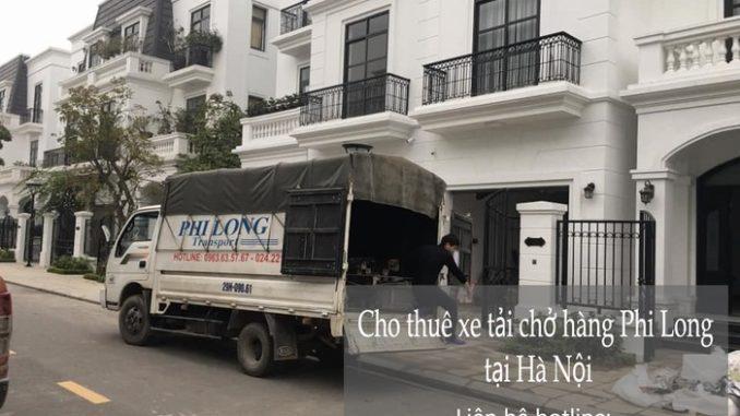 Dịch vụ thuê xe tải tại phố Nguyễn Huy Tự