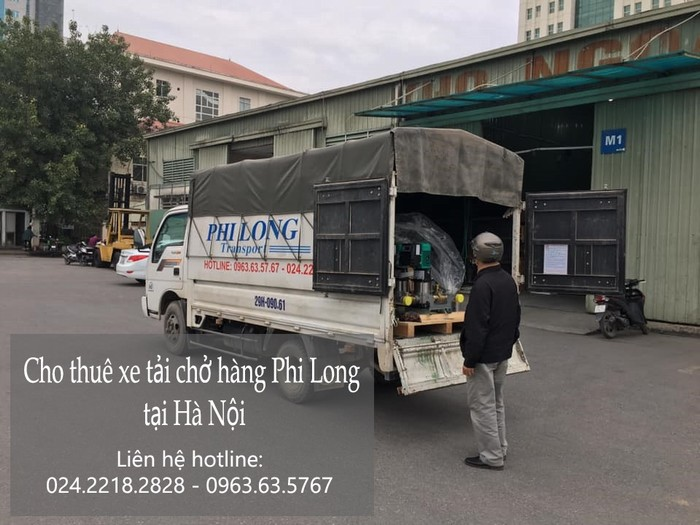 Cho thuê xe tải giá rẻ tại phố Nam Đuống