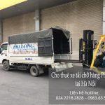 Dịch vụ cho thuê xe tải tại phố Vũ Trọng Khánh