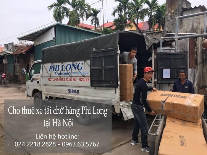 Cho thuê xe tải tại phố Kim Quan