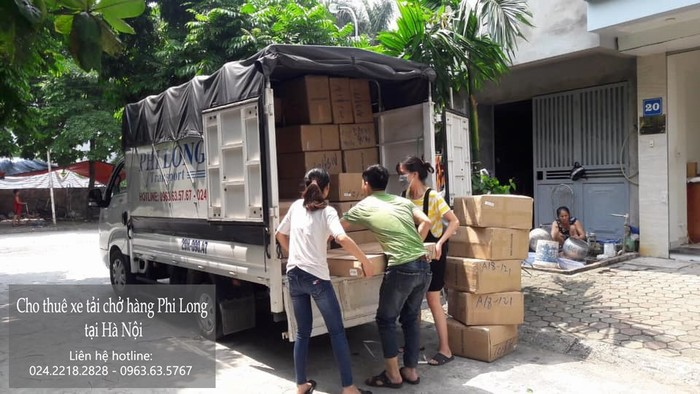 Cho thuê xe tải giá rẻ tại phố Nguyễn Văn Hưởng