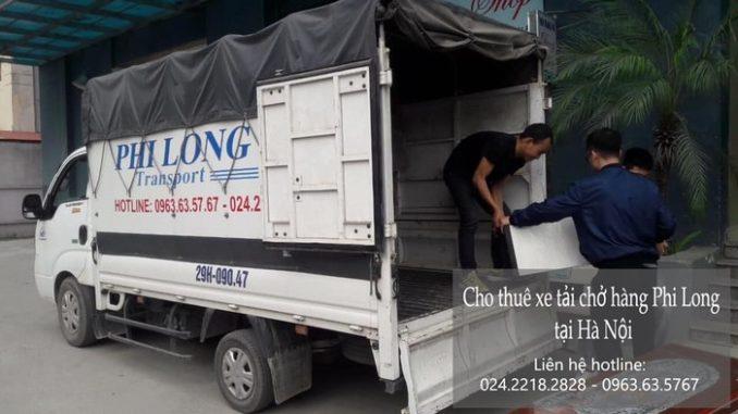 Dịch vụ thuê xe tải giá rẻ tại phố Nguyễn Khả Trạc