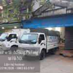 Dịch vụ thuê xe tải giá rẻ tại phố Nguyễn Chánh