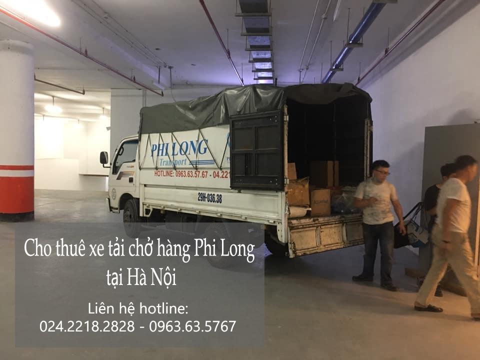 Dịch vụ cho thuê xe tải tại phố Quần Ngựa