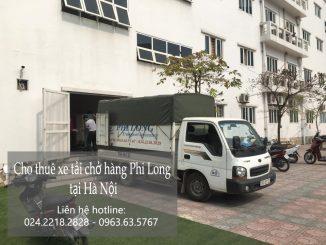 Dịch vụ thuê xe tải giá rẻ tại phố Cầu Đất