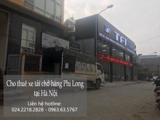 Dịch vụ cho thuê xe tải giá rẻ tại phố Bảo Khánh